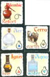 image of 5th revision of element cards
